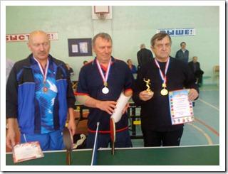 Ветераны настольного тенниса г.Омска 60 лет и старше